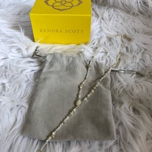 Kendra Scott Bethany Gold Y Necklace
